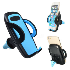 360° Air Vent Car Phone Holder Universal Stand Cradle Mount For iPhone 7 8 X GPS