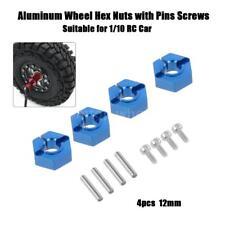 4pcs 12mm Alumium Wheel Hex Nuts with Pins Screws for 1/10 Tamiya LRP HSP Z7J7