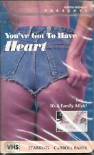 YOU'VE GOT TO HAVE HEART (VHS) Prism clamshell EDWIGE FENECH! VERY RARE HTF OOP