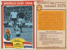 346 GERMANY Vs HOLLAND # ENGLAND WORLD CUP 1974 CARD PREMIER LEAGUE TOPPS 1978