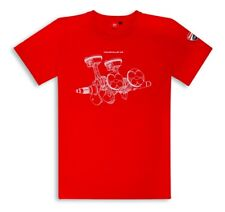 Ducati Corse Graphic V4 panigale short-Sleeved Red New