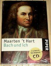 NEU, OVP - Maarten 't Hart - BACH UND ICH - Mit 13 Bachwerken auf CD - TB