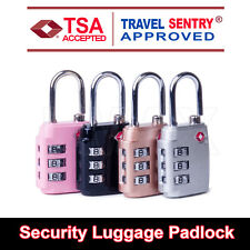 TSA Approved Combination Lock PadLock Locker Locks Security Suitcase Luggage Bag