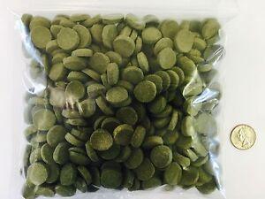 Spirulina Algae Veggie Wafer Discs, Bottom Eaters Plecos, Shrimp, Catfish