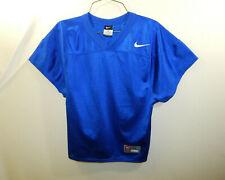 Nike Football Practice Jersey Blue Size YOUTH MEDIUM Boys Clothing
