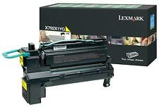 Lexmark Genuine X792x1yg High Yield Yellow Toner for X792 - 20 000 Pages