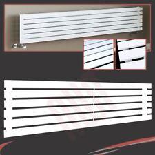 """x 516mm 1250mm H /""""Corwen/"""" Chrome Radiatore Pannello Piatto orizzontale W 7 sezioni"""