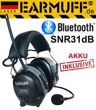 "DS-Alert dynamischer 31dB BLUETOOTH FM Radio ""EARMUFF"" Kapselgehörschutz"