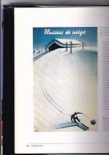 La Montagne s'Affiche  toutes les affiches de ski,montagnes .. par D HILLION