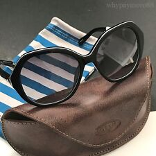Fossil FOS2031/S Black Oversized White Outline Womens Sunglasses NWT Case