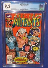 Marvel New Mutants #87 Comic Book CGC 9.2 NM 1990 1st Appearance Cable X-Men