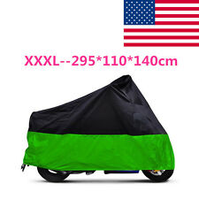 New XXXL Motorcycle Rainproof Cover For H-D Electra Glide Classic FLHC w/Sidecar