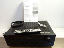 Onkyo TX-8050 / HIFI STEREO-Receiver HEIMKINO/ 2x130 W/ BLACK / OVP / TOP ! #M29