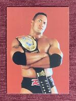 1998 WWF DuoCards Super Starz THE ROCK Rookie Card #8 RC WWE🔥