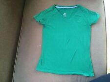Womens Nike Green Extra Small Short Sleeve Athletic Shirt