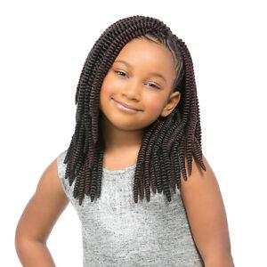 """Sensationnel Synthetic Crochet Braiding Hair KIDS SASSY 12"""""""