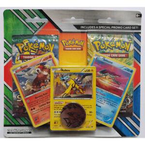 Pokemon Enhanced Blister 2-Pack Booster (Entei/Raikou/Suicune)