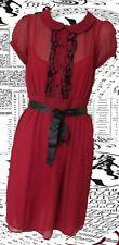 Tamaño 8 años 40 Landgirl Vestido De Té Verano Estilo Vintage Lunares # Us 4 EU 364.99
