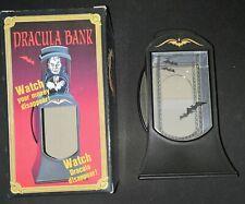 Dracula Bank by Tenyo - 1994 (Coin Bank / Magic Trick)