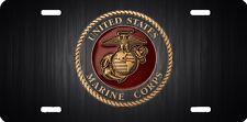 U.S.M.C. Marines semper fi beautiful car tag  license plate new design 669