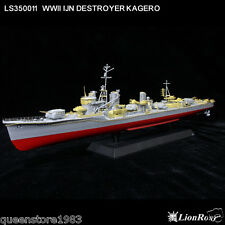 Free ship LionRoar PE details 1/350 IJN Destroyer Kagero for Tamiya