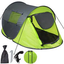 Grande tente instantanée 2 personnes pliante pop up + housse de transport vert