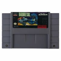 BioMetal (Super Nintendo Entertainment System, 1993) Authentic Tested Works