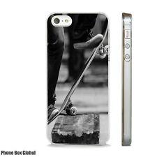 NEW SKATEBOARD GRIND ART PHONE CASE FITS IPHONE 4 4S 5 5S 5C 6 6S 7 8 SE PLUS X
