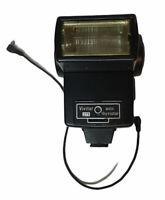 Vivitar 273 Auto Thyristor Shoe Mount Camera Flash with cable