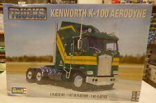 Revell 1/25 Kenworth K-100 Aerodyne Truck Model Kit Sealed 2514