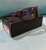 New Oakley Valve Sunglasses - Matte Grey Smoke / Black Iridium Polarized