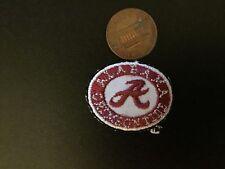 "Alabama Crimson Tide 1 1/8"" Oval Patch 2004-Present Logo College"