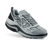 Gravity Defyer ION Mens Gray 9022MGS Mesh Comfort Rocker Sole Sneaker Shoes