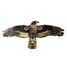 REPLICA HAWK BIRD SCARER Plastic Fake Decoy Deterrent Outdoor Use