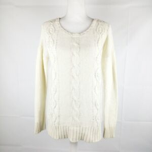 American Eagle Outfitters Pullover Sweater Women Size M Cream