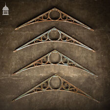 More details for set of 4 19th c cast iron greenhouse brackets