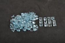 Natural Sky Topaz 5mm Square Faceted 5 Pieces Top Quality Loose Gemstone