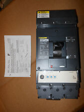 Square D Lja36400Cu33Xyp 3p 400amp 100% rated Lsi circuit breaker New Warranty!