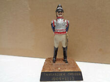 Imrie Risley, Napoleonic French Cuirassier, painted lead soldier 54mm, JL