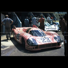 Photo A.013108 PORSCHE 917 JOEST-KAUSHEN 24 HEURES LE MANS 1971