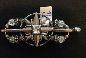 Lilla Rose Flexi Hair Clip XS Compass Rose. Retired