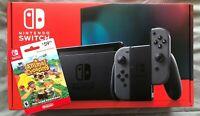 Nintendo Switch V2 Tablet With Animal Crossing Joy-Cons   eBay
