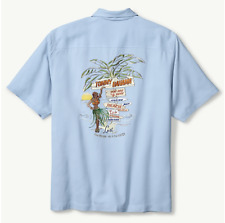 TOMMY BAHAMA SILK SHIRT LOST AND SWINGIN IN PARADISE COLLECTORS $250 CAMP LARGE