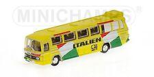 Bus Mercedes Benz O302 Nazionale Italiana 1974 1:160 Model MINICHAMPS