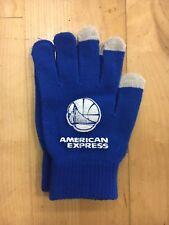 Golden State Warriors NBA Gloves American Express FREE SHIPPING SGA