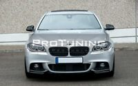 BMW 5 F10 F11 M Sport Performance Front Bumper Elerons Splitter flap addons