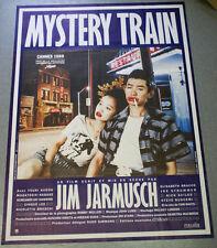 Affiche de cinéma : MYSTERY TRAIN de Jim JARMUSCH