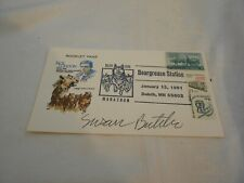 1991 BEARGREASE STATION SUSAN BUTCHER  AUTOGRAPHED ENVELOPE