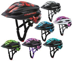 Cratoni Pacer Allround Helm Kinderhelm Fahrradhelm mit Visier MTB BMX Inliner
