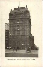 New York City Hotel Netherland & Street c1905 Postcard